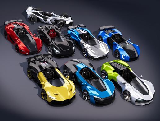 Race Karts Pack