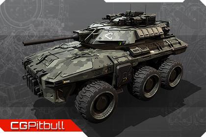 SF - Military Vehicle