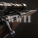 K98 WWII Sniper Rifle