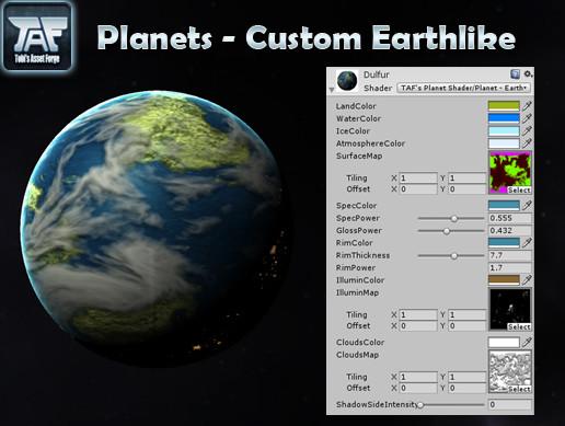 Planets - Custom Earthlike