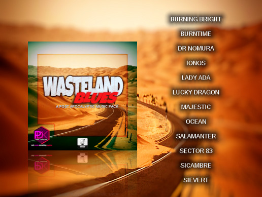 Wasteland Blues (a post-apocalyptic music pack)