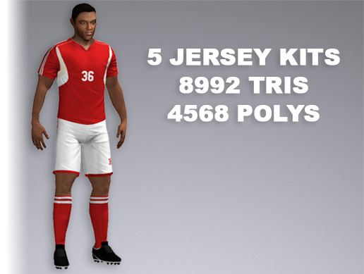 Soccer Player 8992 Tris