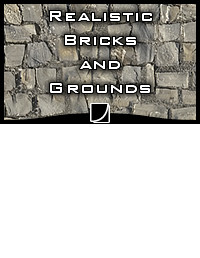 QS Materials Stone - Pack Brick And Ground vol.1