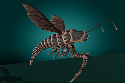 Flying Shrimp Monster