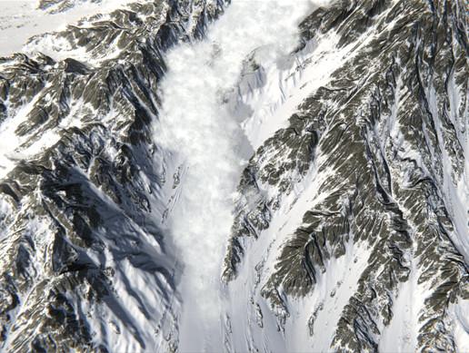 Avalanche Snow Simulator
