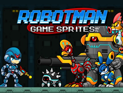 Robotman - Game Sprites