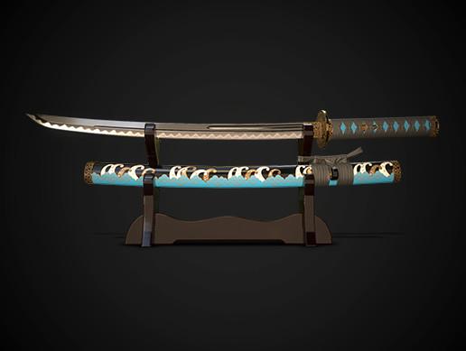 Samurai sword wakizashi No.01