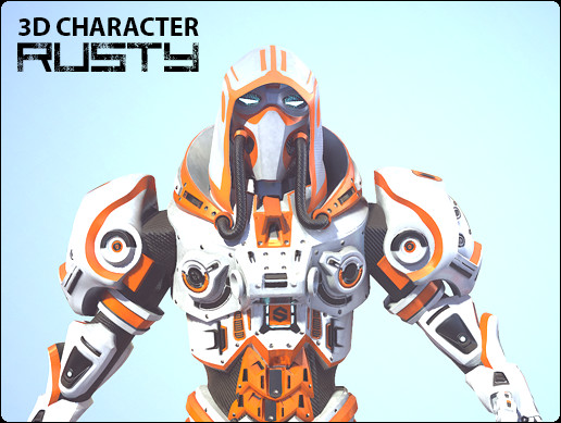 3D Character - Rusty