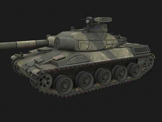 Tank AMX-30B