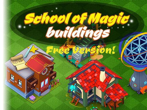 Magic Buildings 2d - free