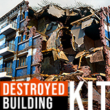 Destroyed Building Kit