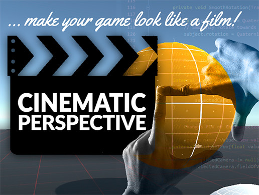 پکیج یونیتی Cinematic Perspective Camera System