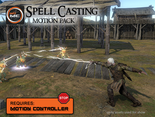 Spell Casting Motion Pack