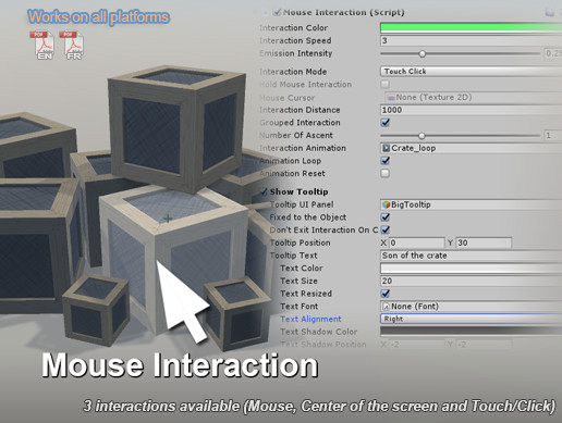 Mouse Interaction - Object Highlight