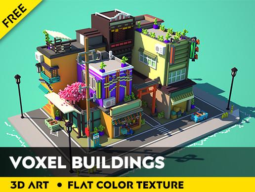 Voxel Buildings