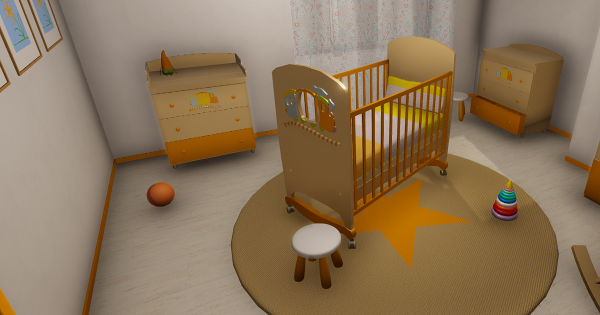 Baby room - props and room
