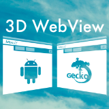 3D WebView for Android with Gecko Engine (Web Browser)