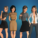 Ultimate Stylized Business Women