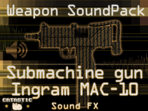 Weapon Sound Pack - SMG: MAC-10