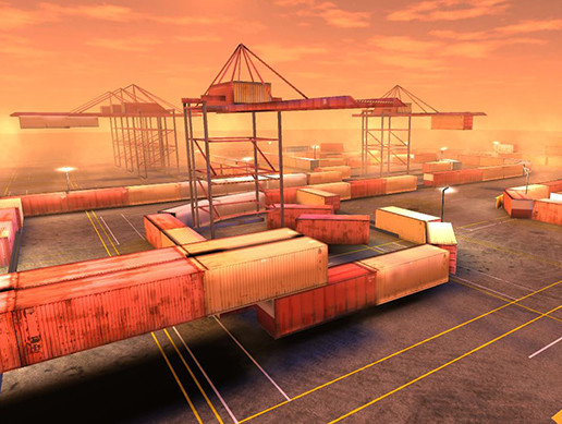 Docks race track - Mobile optimized