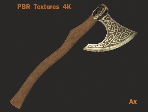 Vikings battle ax