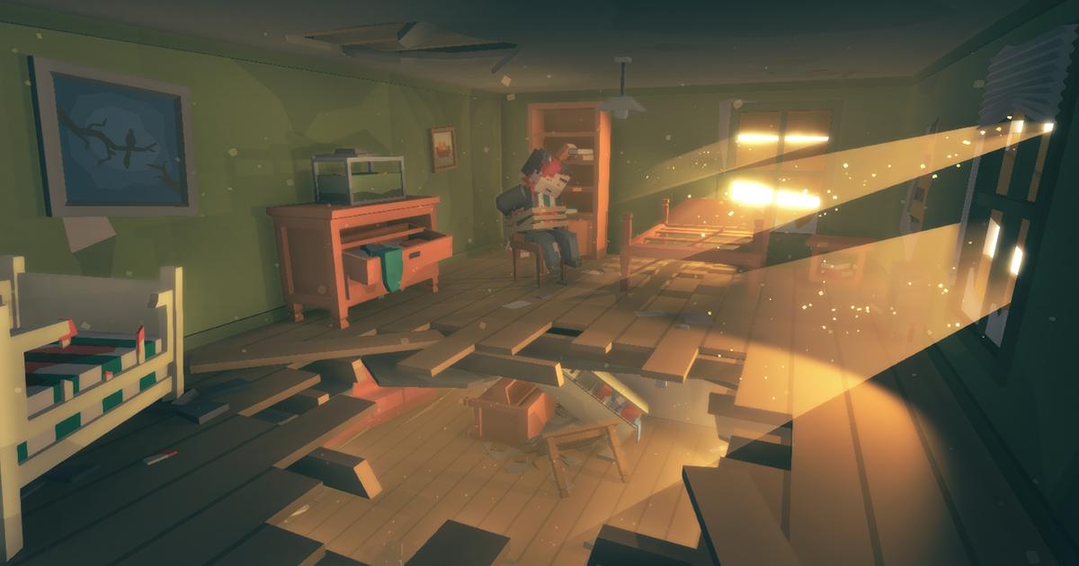 Simple Apocalypse Interiors - Cartoon Assets