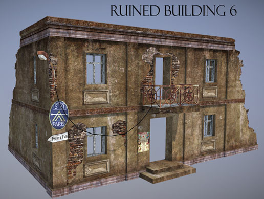 Ruined Building 6