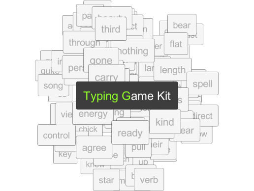 Typing Game Kit