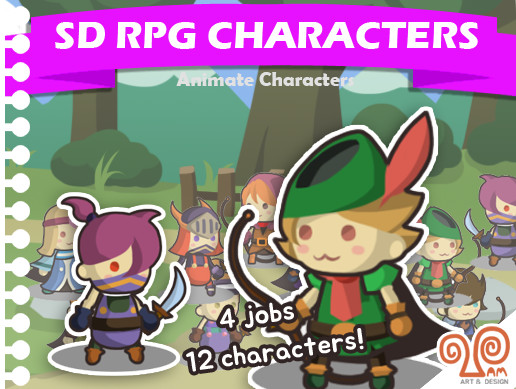 SD RPG character pack