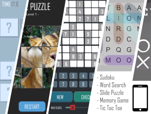Mobile Puzzle Game Kit