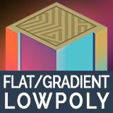 Minimalist - Lowpoly Flat/Gradient Shader