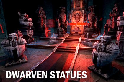 Dwarven statues