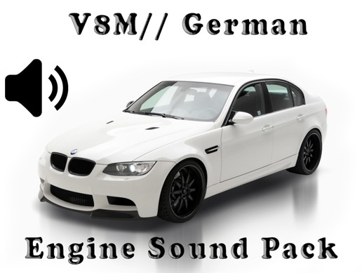 V8 M// German - Engine Sound Pack - 1