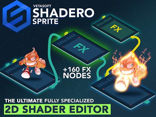 Shadero Sprite - 2D Shader Editor