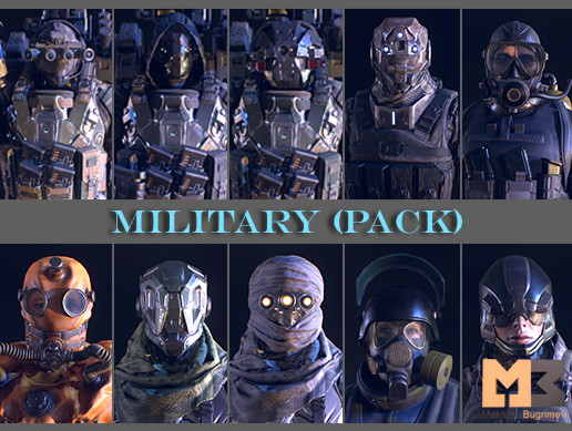 PBR Military (pack)