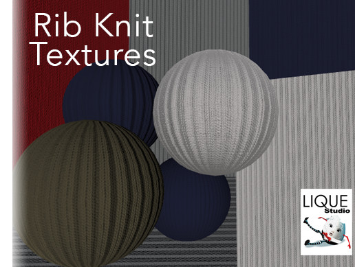 Rib Knit Textures - pack 1