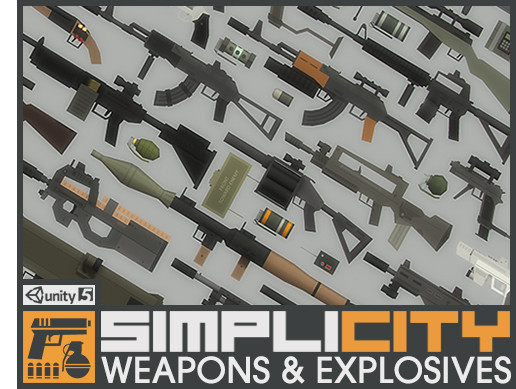 SimpliCity Weapons & Explosives