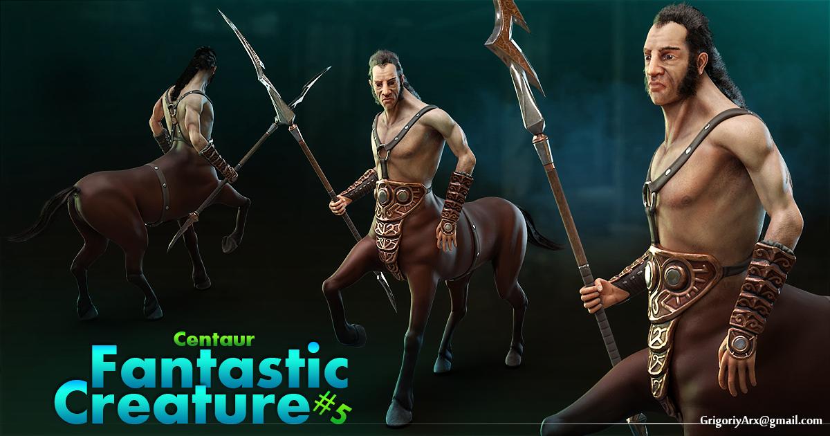 Fantastic Creature #5 Centaur
