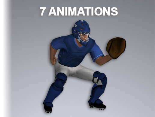Baseball Catcher 9054 Tris