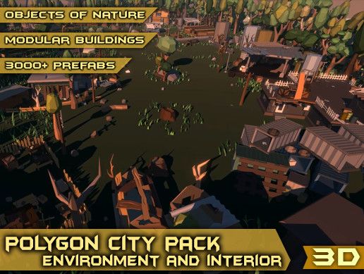 Polygon City Pack - Environment and Interior