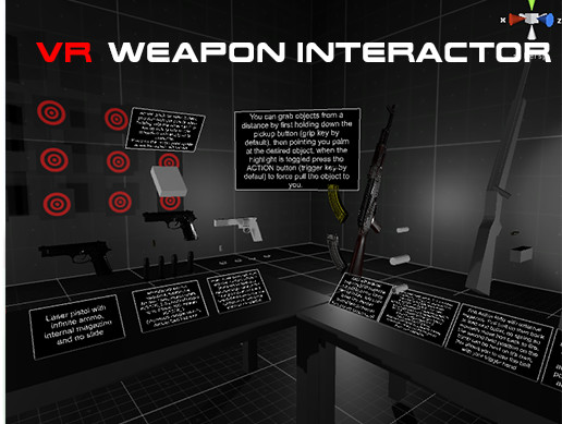 VR Weapon Interactor - Asset Store