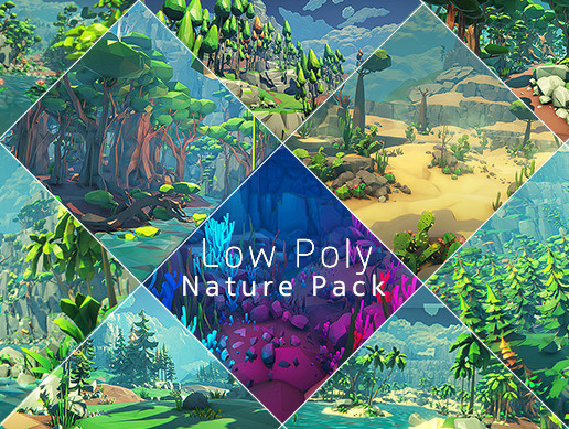 Z ! Low Poly Nature Pack
