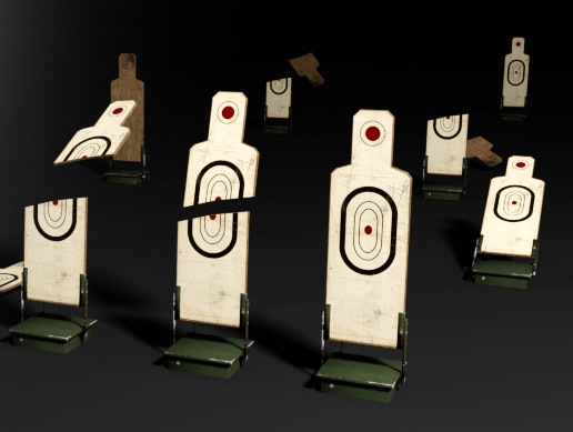Target at the shooting range
