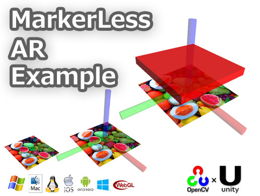 MarkerLess AR Example