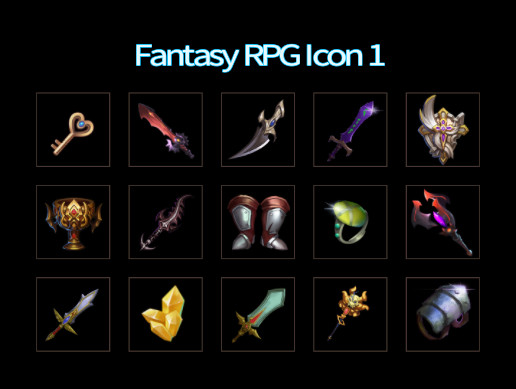 Fantasy RPG Icon 1