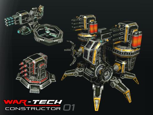 Modular Multilevel: Turrets-Mechs-Robots - Asset Store