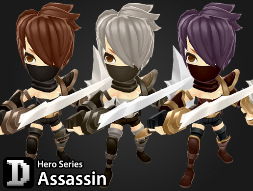 Hero Series - Assassin