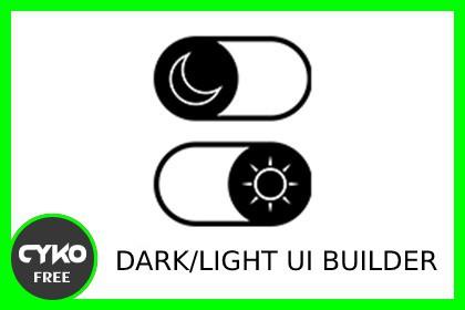 Dark/Light Mode UI Builder