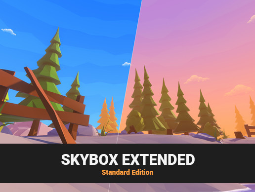 FREE Skybox Cubemap Extended Shader • Standard Edition
