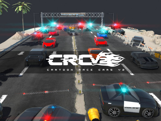 CRCV2 - Cartoon Race Cars V2